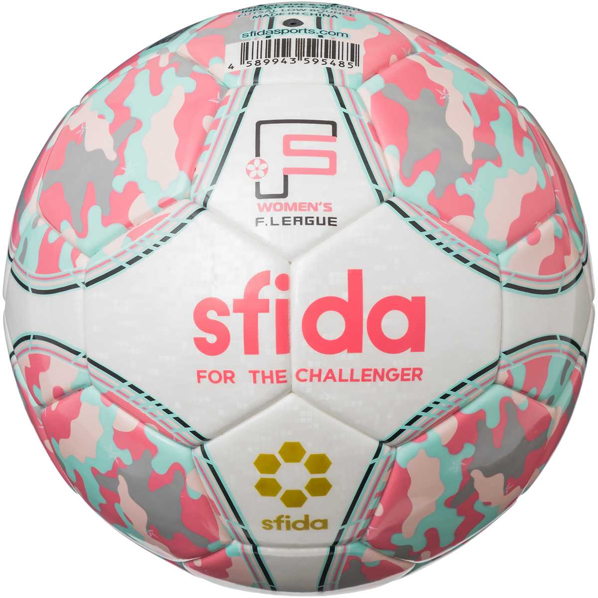 【日本女子フットサルリーグ公式試合球】 INFINITO NEO PRO ピンク/サックス