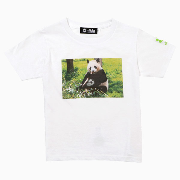 FOOTBALL ZOO Tシャツ パンダ