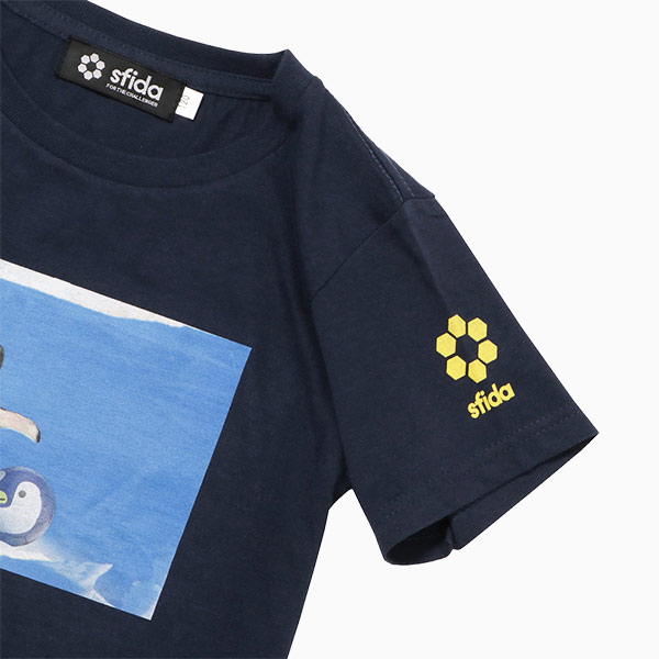 FOOTBALL ZOO Tシャツ ペンギン袖