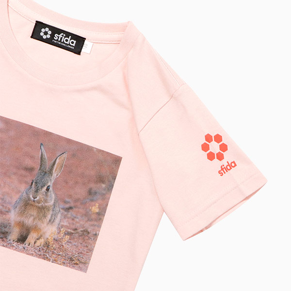 FOOTBALL ZOO Tシャツ ウサギ袖